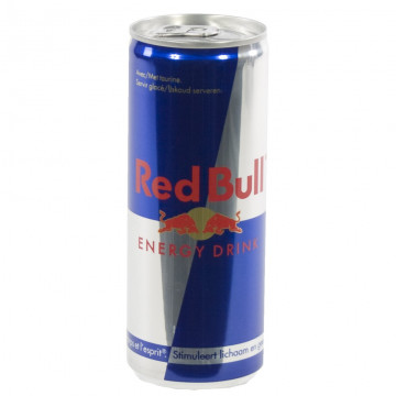 Red Bull 25 cl Blik