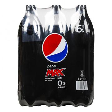 Pepsi 1,5 l MAX 6 stuks