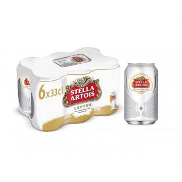Stella blik 33cl