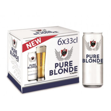 Jupiler PURE Blond blik 35,5