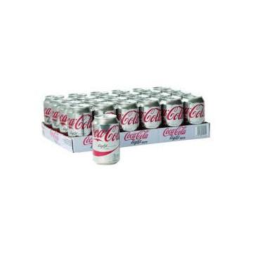 Cola Light blik 33 cl