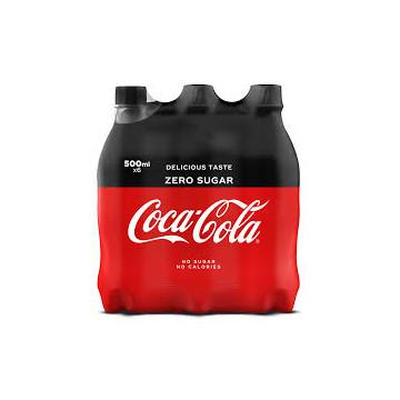 Cola 0,5l ZERO