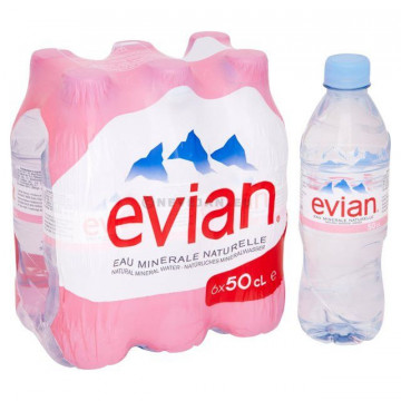 Evian 50 cl  PET