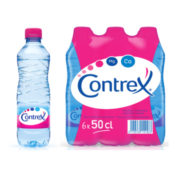 Contrex 0,5 liter PET